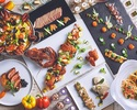 【9月限定】オマール海老とアンガス牛のステーキやスイーツが120種類食べ放題ディナーブッフェに≪アルコール3時間飲み放題付き≫ 6500円 平日特別プランです。