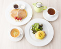 【サラベスの看板menuを】お土産のクッキー付!エッグベネディクトにパンケーキorフレンチトーストが選べる