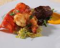 【肉×魚介】和牛炙りやフィレ肉のグリル、雲丹や鮪など豪華贅沢に堪能全6品 <NoMad Course>