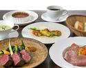 ◆門崎熟成肉の炭火焼きコース◆熟成肉の塊焼きと手づくりシャルキュトリー<5品>