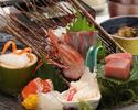 Sashimi set meal with seasonal fish [Seafood Komachi]