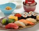 Sushi lunch set [Oki]