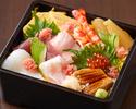 お昼の寿司【こよみのちらし】