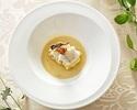 【CHEF'SSELECTION】結婚記念日におすすめ!冬野の前菜から始まるメインに島根県産牛肉を含むフルコースランチ!