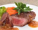 【SHIKITEI】非日常空間で贅沢コース!ビーフ料理が選べる野菜をふんだんに使ったWメイン全5品フルコース