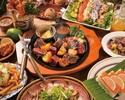 新年会幹事様必見!人気のアロハパーティーコース 前菜~デザートまで全8品【2.5時間飲み放題付】※金土祝前日は2時間制
