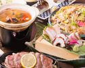 【2時間飲み放題付】贅沢!壱岐牛レモンステーキや長崎直送鮮魚盛りのコース〈全7品〉宴会・飲み会・接待