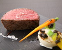 【Sagabeef】Rump steak & seasonal dish course