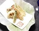【Tempura Lunch Course Kumoi】