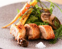 Seafoods & Local chicken Course