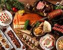 《 12/19~20・12/24~27 》3部:クリスマスディナーブッフェ90分/¥8,800