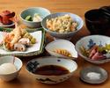 季節の特選天ぷら定食