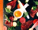 【VIPルーム限定】旬の食材を楽しむ「季節のコース」