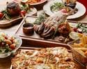 魚介たっぷりの前菜と贅沢お肉5種盛り合わせコース~自社輸入クラフトビール5種2h飲み放題付