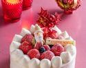 2021クリスマスデコレーションケーキ「ホワイト クリスマス」 15cm