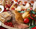 クリスマスディナーブッフェ小学生 ご利用人数