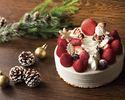 クリスマス・ストロベリー・ショートケーキ