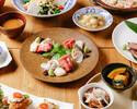 【接待におすすめ】茶茶の贅沢コース鮮魚5種盛り合わせ・黒毛和牛の朴葉ステーキ・雲丹といくらの炊き込みご飯』2.5時間飲み放題付き