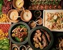 ◆1週間前まで予約/1ドリンク付ランチ平日大人クリスマスブッフェ