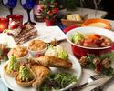 【12月のご予約はこちら!新宿駅近でクリスマス女子会】とろ~りチーズ鍋とローストチキン&限定デザート×スパークリングワインも選べる乾杯ドリンク付き♪4,500円(税別)