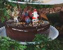【Lily cakes】Noël Chocolate 2019 (12cm)