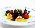 【季節の味覚×リヴィエール】牛ロースステーキのメインに季節野菜やお魚まで内容充実の贅沢フルコース!