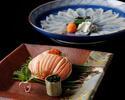 【テーブル個室】蟹河豚(かに・ふぐ)づくし  50,000円