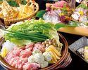 大山鶏とつくねのハリハリ鍋コース 4500円(全9品)