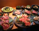 晚餐肉套餐6650日元套餐