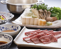 """【Dinner - Online Limited Deal】""""Matsusaka Wagyu Beef Shabu-Shabu Course"""" with Complimentary Glass Champagne"""