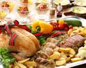 【12月21日、22日限定】クリスマスディナーブッフェ★シルバー(65歳以上)