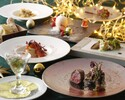 [Early-Xmas2019] With glass champagne All 7 dishes using luxurious ingredients such as lobster, Iwate short angle beef!