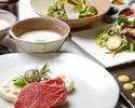 【神戸牛と鮮魚のランチ】世界に誇る神戸牛、瀬戸内産鮮魚など贅沢なプレミアムフルコース全7品 ~web予約特典!乾杯スパークリング付~