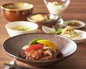 【乾杯ドリンク&食後のコーヒー付き!】海鮮orお肉から選べるメイン!豆乳粥やご飯がおかわり自由なランチ