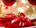 【クリスマスディナー2019】乾杯モエ・エ・シャンドン付き 真鯛やオマール海老・牛ロースグリルなど全5皿