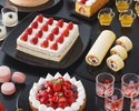 【Lunch】Suites & Sandwich Buffet ~ Strawberry Hunt at Hotel ~Adult¥3,800(Sat,Sun,Holidays