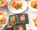 【お料理個人盛り】フカヒレ・名物!担々麺入り4,400円 平日限定  ※料理のみコース