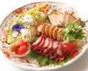 【お料理個人盛り】フカヒレ・点心・担々麺入り料理長オススメ 5,500円 平日限定  ※料理のみコース