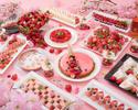 【直前割】フリードリンク付!桜色のスイーツと食事で夜桜気分♪いちご×花見プラン!!第2部