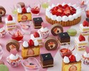 【Dinner】Suites & Sandwich Buffet ~ Strawberry Hunt at Hotel ~Adult¥3,800(Sat,Sun,Holidays¥4,200)Elementary School Students¥2,000 Infants(4years of age or older)¥900