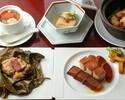 【夏のご宴会】6000円 フカヒレの茶碗蒸し・大穴子・担々麺入り入り全8品