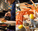 【Weekend /For 4】 Lunch Buffet with Folk Crab Bucket 1kg
