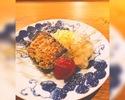 【バレンタインにオススメ】ガトーショコラ×りびんぐ名物詰め合わせコース【選べるドリンク付き】