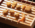 [With all-you-can-drink] 11reasonable plank skewers that you can enjoy the taste that you can only taste