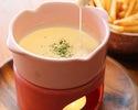 【3/1~】チーズフォンデュ付き!春料理のサプライズ記念日コース