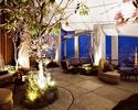 【Sakura Terrace】Free Flow Ohanami Plan (Perrier-Jouet Grand Brut) <Regular Terrace Table>