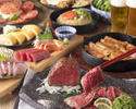 【歓送迎会に】名物の肉汁餃子も!『北海道産サロマ和牛タタキとお造り3種盛り合わせ』2時間飲み放題