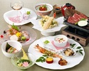 Four Seasons Kaiseki-Spring-[With one glass of Hokkaido wine]