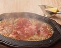 【ランチオンライン予約限定】黒毛和牛レモンステーキ&自家製デザート、カフェ等 レモンステーキコース