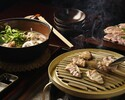 Irori Charcoal-grilled Chicken Course (A course for enjoying grilled dishes.)